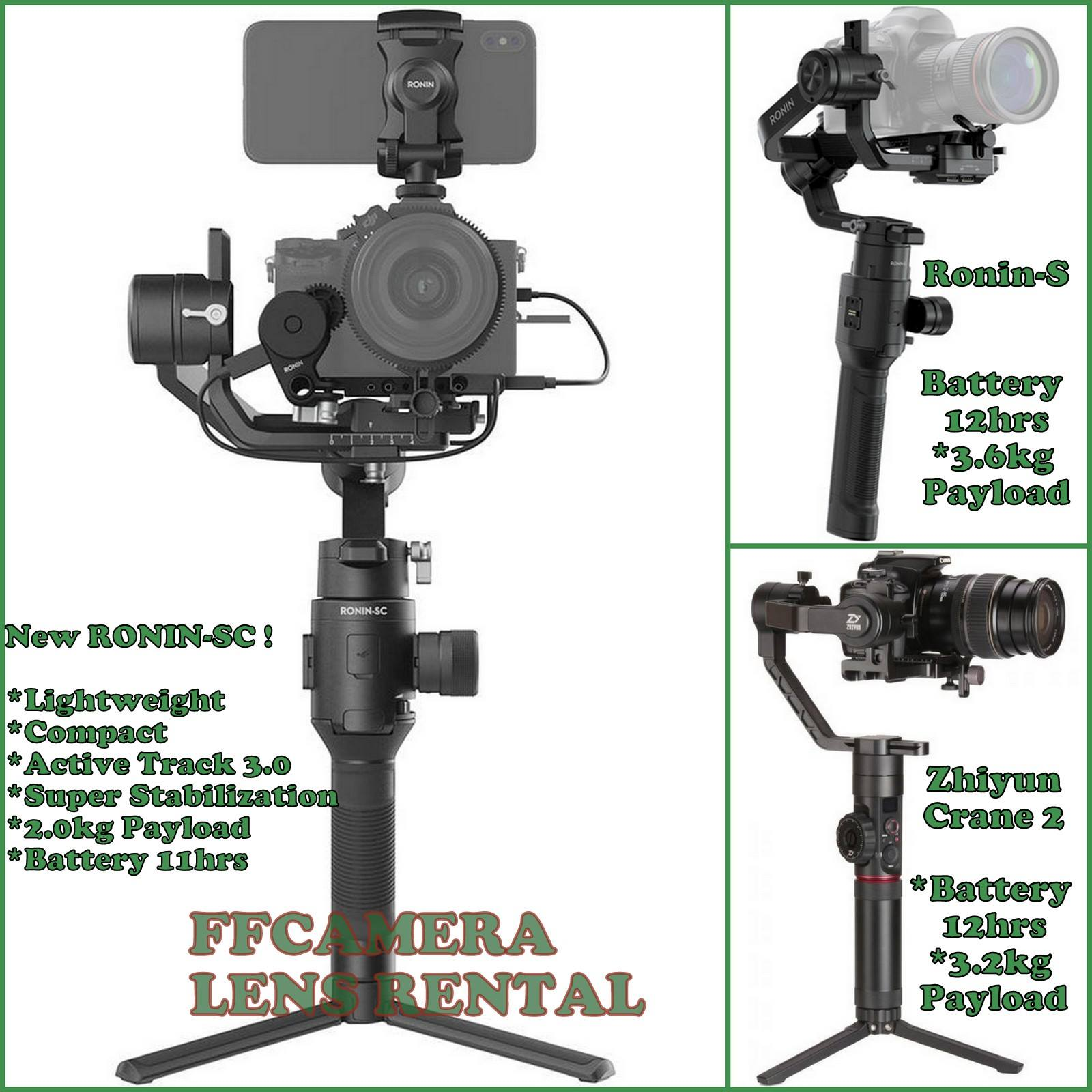 Camera Stabilizers Promotion!